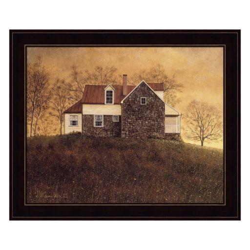 Autumnal Sunset Framed Wall Art