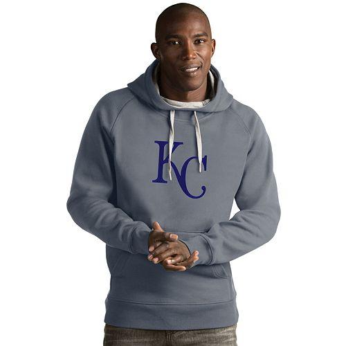 Men's Antigua Kansas City Royals Victory Logo Hoodie