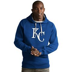 Men's Antigua Kansas City Royals Victory Logo Hoodie