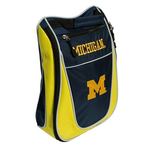 Team Golf Michigan Wolverines Golf Shoe Bag