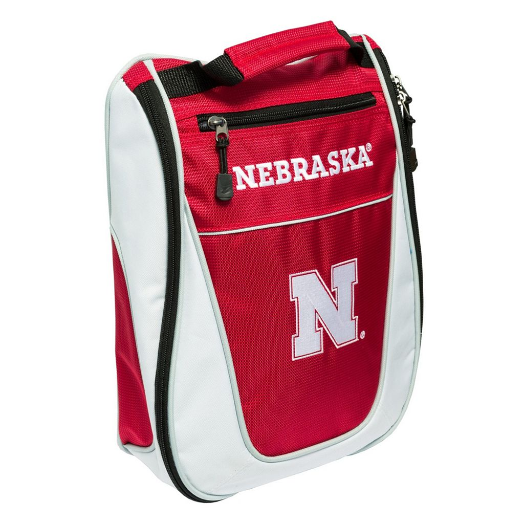 Team Golf Nebraska Cornhuskers Golf Shoe Bag
