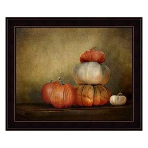 Pumpkins Still Life Framed Wall Art