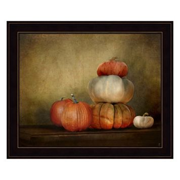Pumpkins Still Life Framed Wall Art