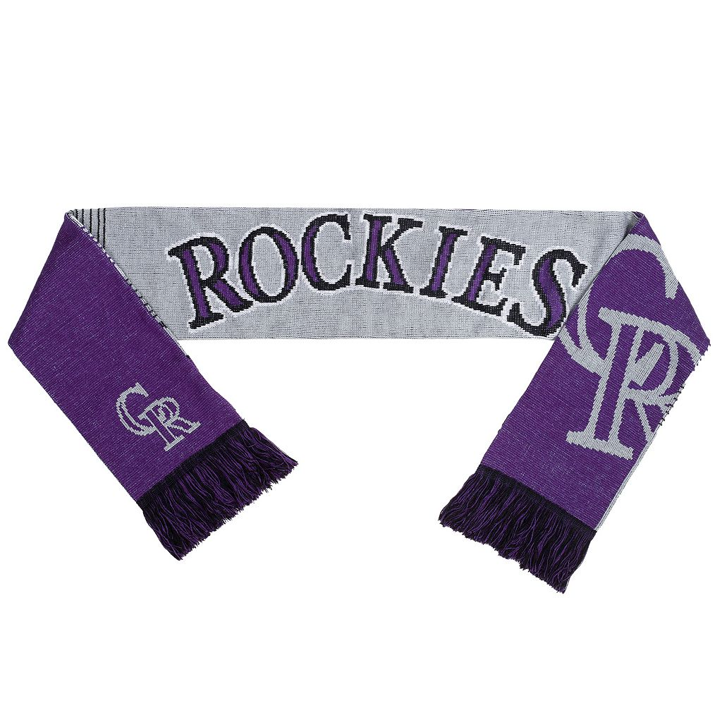 Adult Forever Collectibles Colorado Rockies Reversible Scarf