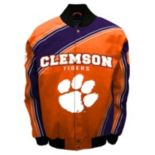 Men's Franchise Club Clemson Tigers Warrior Twill Jacket