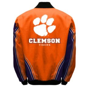 Men's Franchise Club Clemson Tigers Warrior Twill Jacket