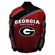 Men's Franchise Club Georgia Bulldogs Warrior Twill Jacket