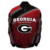 Men's Franchise Club Georgia Bulldogs Warrior Twill Jacket