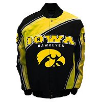 Men's Franchise Club Iowa Hawkeyes Warrior Twill Jacket