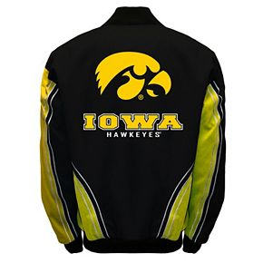 Men's Franchise Club Iowa Hawkeyes Warrior Twill Jacket