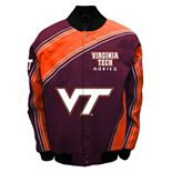 Men's Franchise Club Virginia Tech Hokies Warrior Twill Jacket
