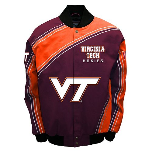 Men's Franchise Club Virginia Tech Hokies Warrior Twill Jacket