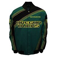 Men's Franchise Club Oregon Ducks Warrior Twill Jacket