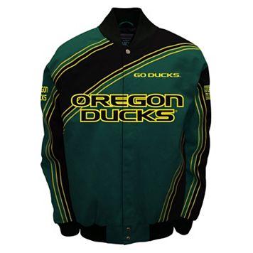 Men's Franchise Club Oregon Ducks Warrior Twill Jacket