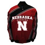 Men's Franchise Club Nebraska Cornhuskers Warrior Twill Jacket