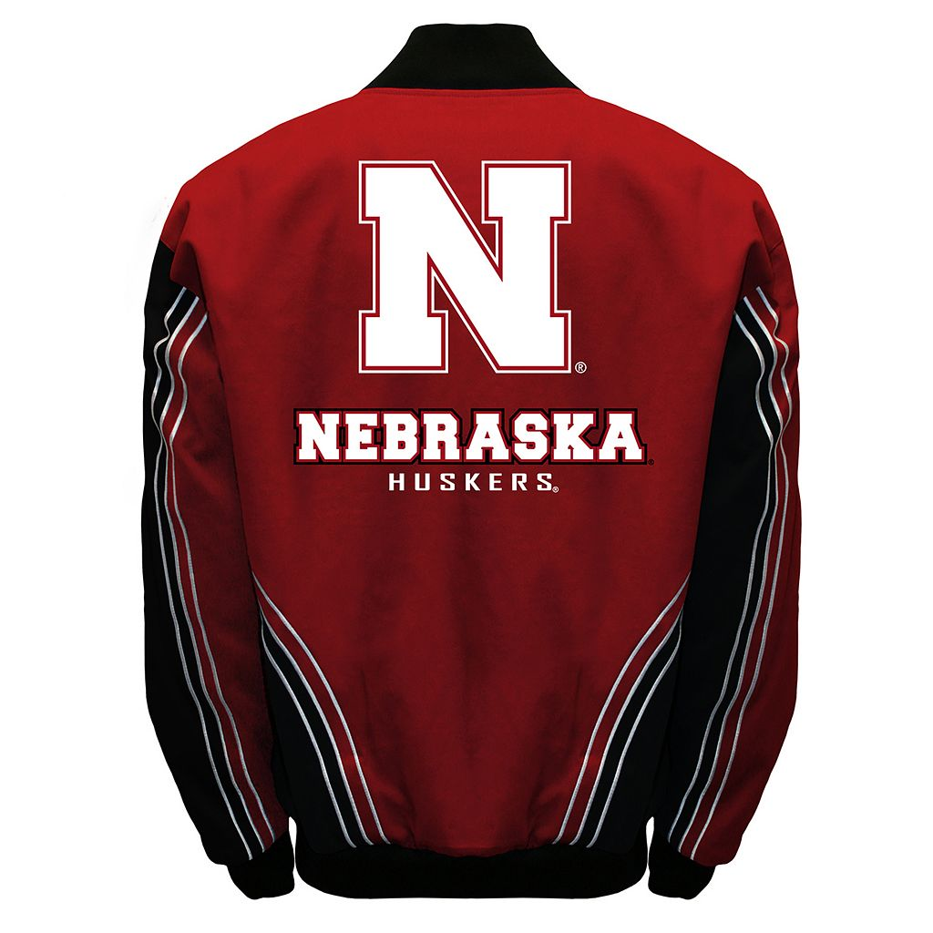 Men's Franchise Club Nebraska Cornhuskers Warrior Twill Jacket