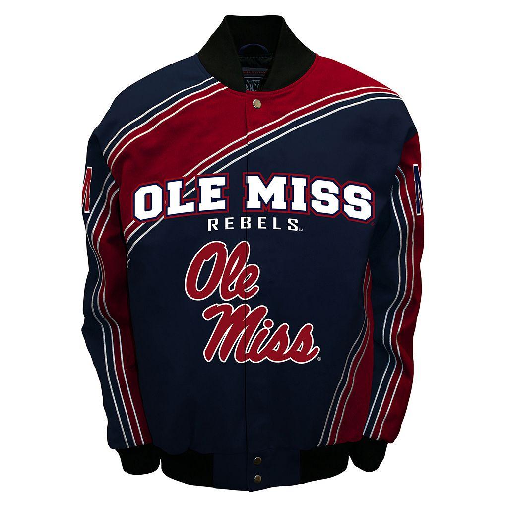 Men's Franchise Club Ole Miss Rebels Warrior Twill Jacket
