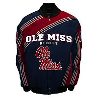 Men's Franchise Club Ole Miss Rebels Warrior Twill Jacket