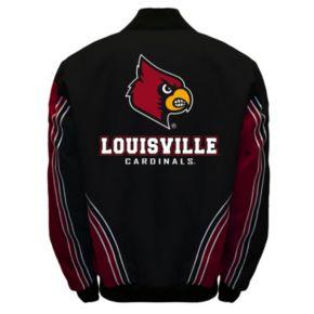 Men's Franchise Club Louisville Cardinals Warrior Twill Jacket
