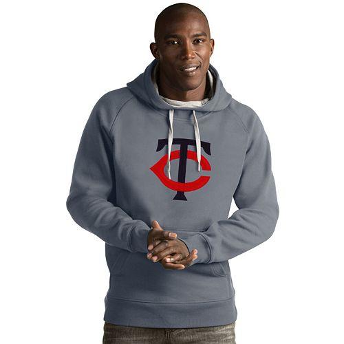 Men's Antigua Minnesota Twins Victory Logo Hoodie