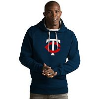 Men's Antigua Minnesota Twins Victory Logo Hoodie