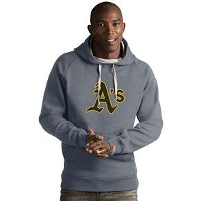 Men's Antigua Oakland Athletics Victory Logo Hoodie