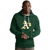 Men's Antigua Oakland Athletics Victory Logo Hoodie