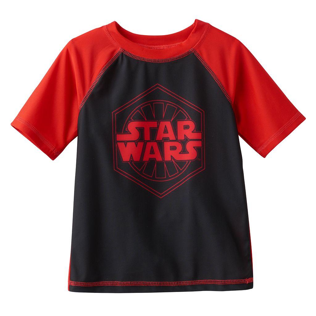 Boys 4-7 Star Wars UPF 50+ Rash Guard