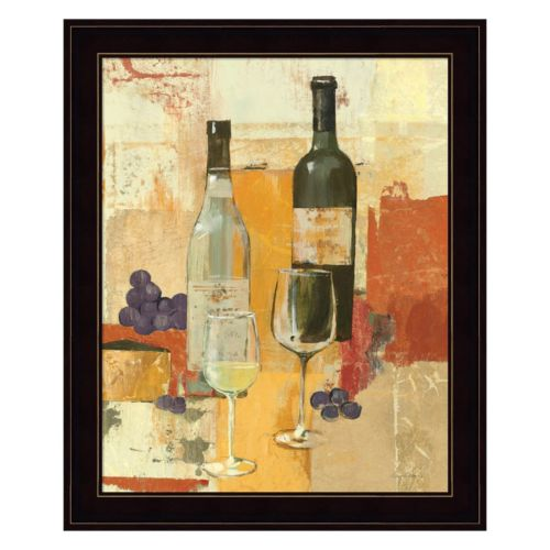 Contemporary Wine Tasting II Framed Wall Art