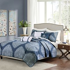 Madison Park 6 pc Caroline Quilted Coverlet Set