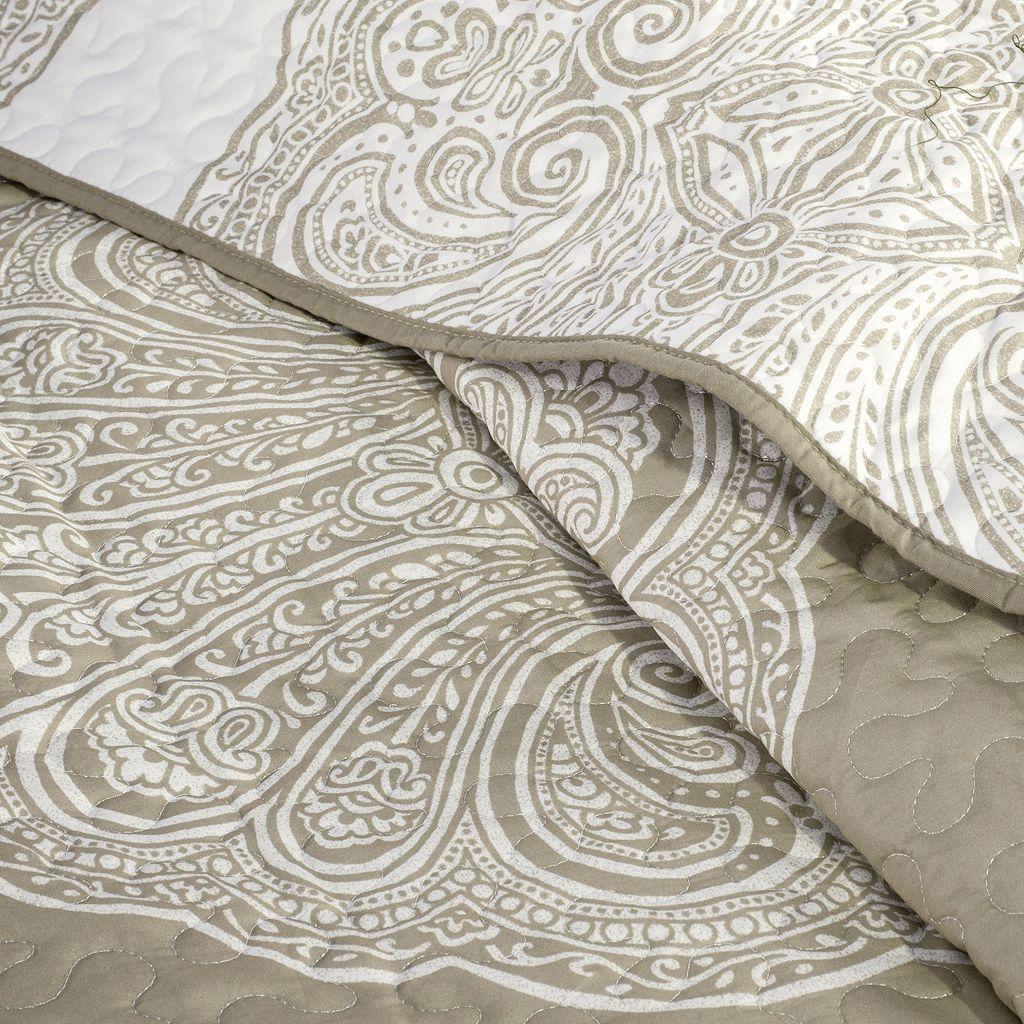 Madison Park 6-piece Caroline Quilted Coverlet Set