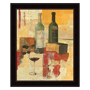 Contemporary Wine Tasting III Framed Wall Art