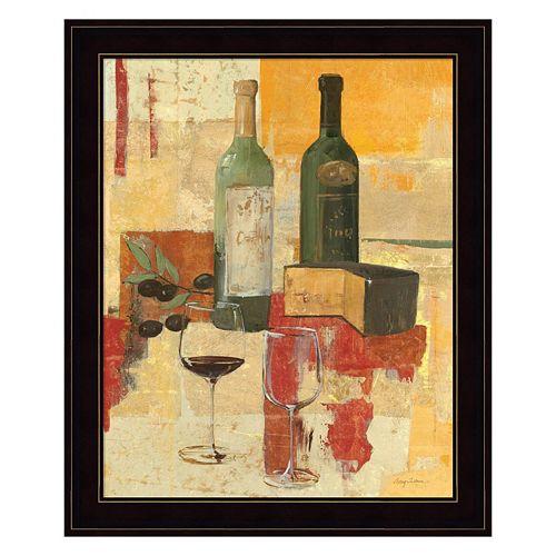 Contemporary Wine Tasting III Framed Wall Art