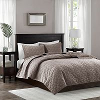 Madison Park 3-piece Emery Coverlet Set