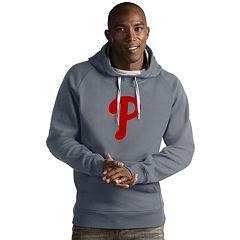 Men's Antigua Philadelphia Phillies Victory Logo Hoodie