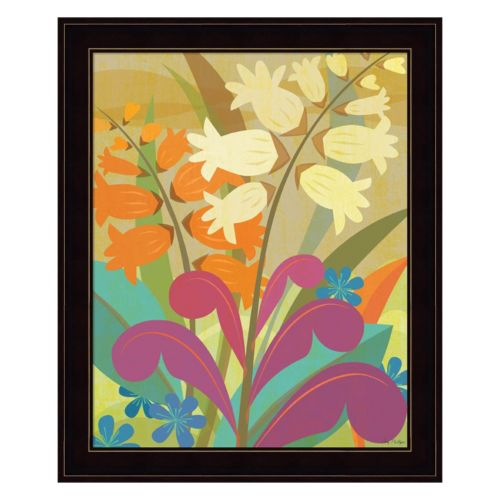 Lily Of The Valley Framed Wall Art