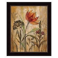 Aquarelle Garden I Framed Wall Art