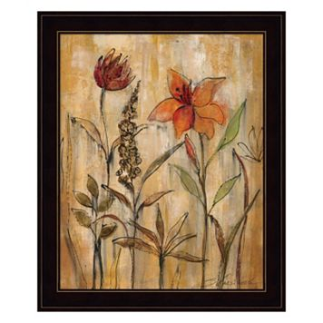 Aquarelle Garden II Framed Wall Art