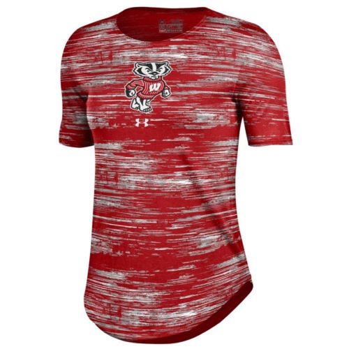 Women's Under Armour Wisconsin Badgers Novelty Tee