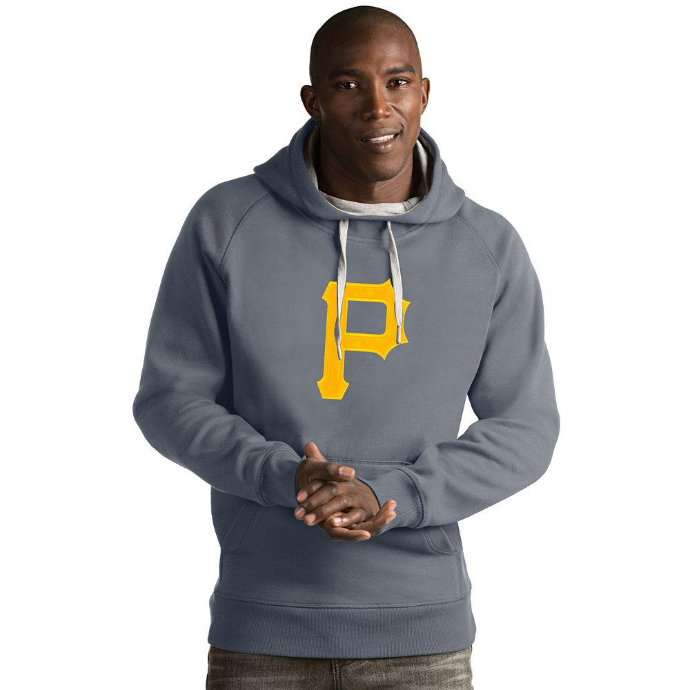 Men's Antigua Pittsburgh Pirates Victory Logo Hoodie