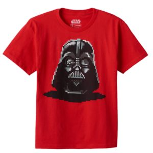 Boys 8-20 Star Wars Darth Vader Tee