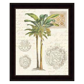 Vintage Palm Study I Framed Wall Art