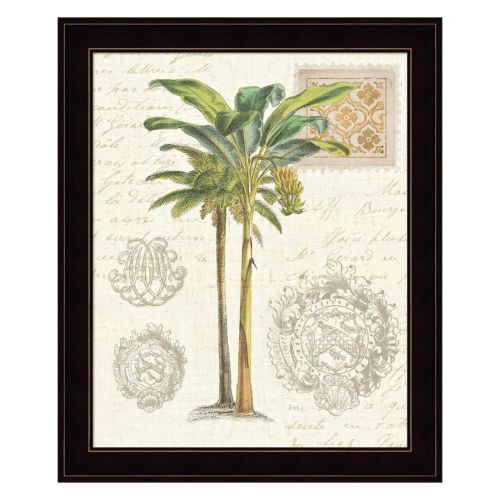 Vintage Palm Study I Framed Wall Art