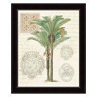 Vintage Palm Study II Framed Wall Art