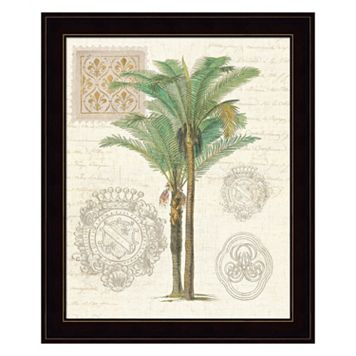 Vintage Palm Study II Framed Wall Art