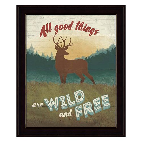 Discover The Wild II Framed Wall Art