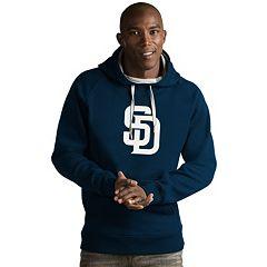 Men's Antigua San Diego Padres Victory Logo Hoodie