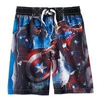Boys 4-7 Marvel Captain America: Civil War Swim Trunks