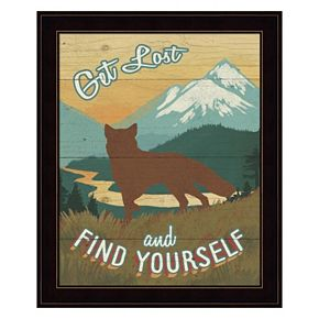 Discover The Wild III Framed Wall Art