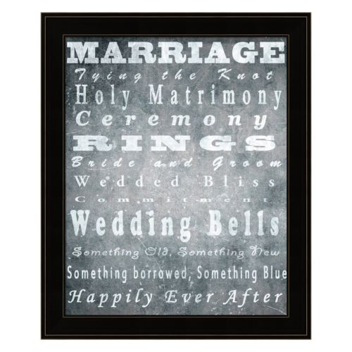 Marriage Framed Wall Art